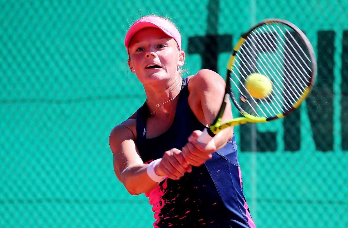 Anna Zaja will den TEC Waldau unbedingt in der ersten Liga halten. Foto: Pressefoto Baumann/Julia Rahn