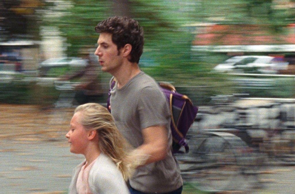 """Ständig zu spät: Vincent Lacoste und Isaure Multrier in """"Mein Leben mit Amanda"""" Foto: Verleih"""