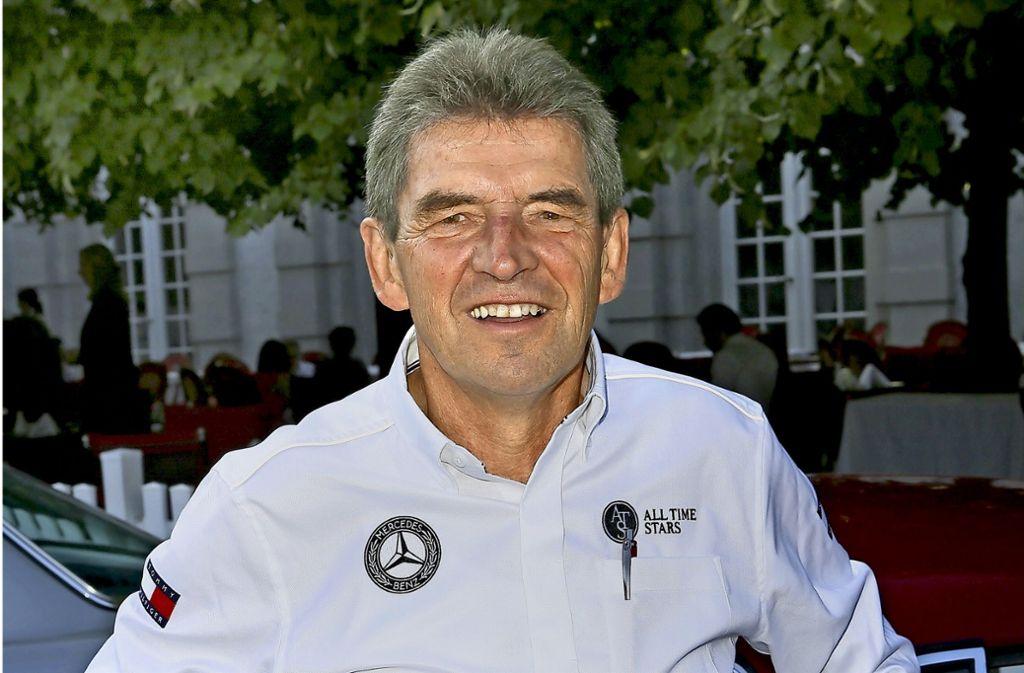 Eine DTM-Legende von Mercedes: Roland Asch Foto: dpa