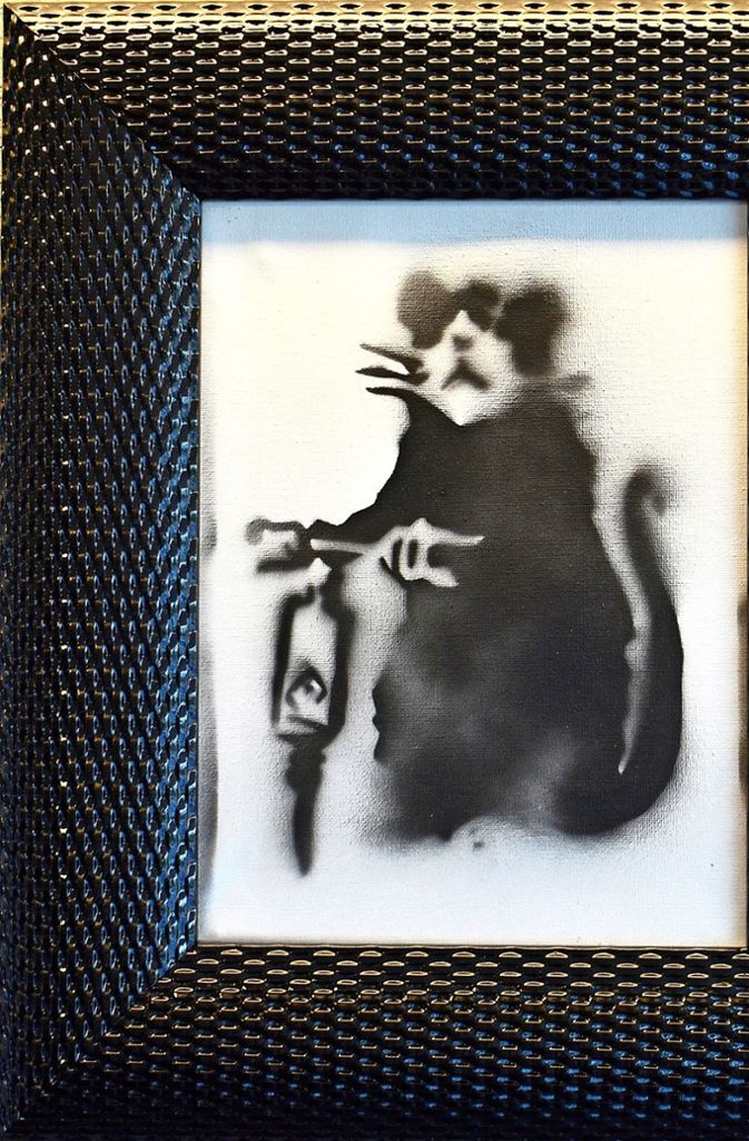 Das zweite Bild, das das Auktionshaus in Bietigheim-Bissingen für 8000 Euro verkauft hat, zeigt ebenfalls einen Nager.  Foto: Auktionshaus Gärtner