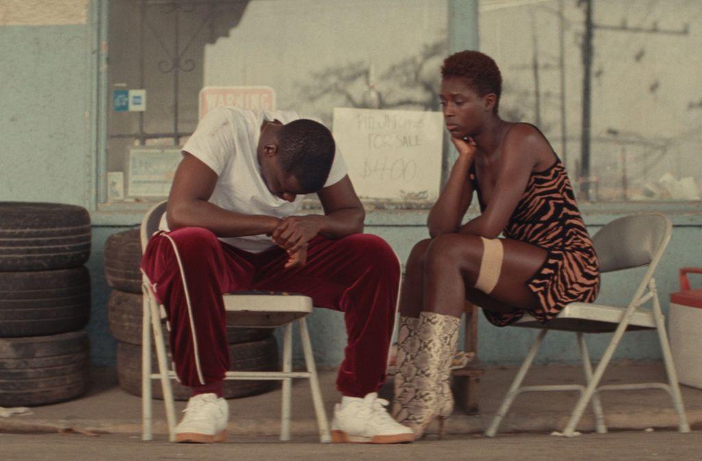 """Eine Flucht ist kein Spaß Daniel Kaluuya und  Jodie Turner-Smith in """"Queen & Slim"""" Foto: Universal Pictures/Andre D. Wagner"""