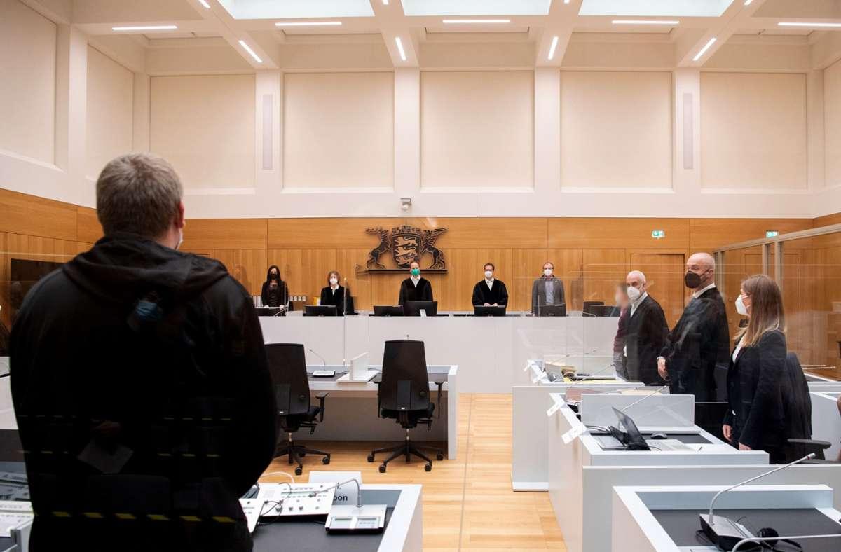 Die Strafkammer verurteilte die beiden Angeklagten am Mittwoch in dem Indizienprozess zu viereinhalb und fünfeinhalb Jahren Gefängnis. Foto: dpa/Bernd Weißbrod