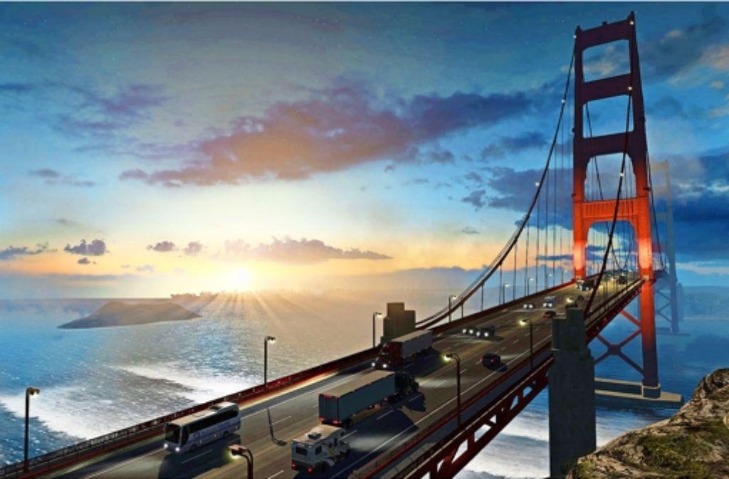 Eine Fahrt über die Golden Gate Bridge gehört zu den schönsten Momenten im Fernfahrerleben. Foto: SCS