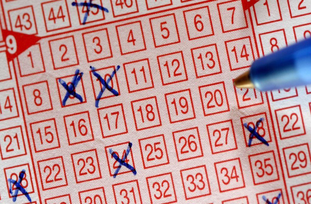 Ein Lottospieler aus Donaueschingen ist jetzt Millionär. Foto: picture-alliance/ dpa