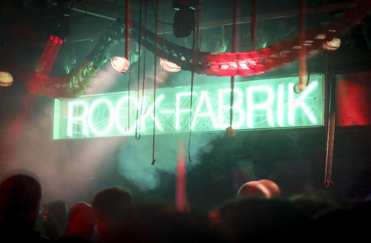 Die Rockfabrik Ludwigsburg: Die Erinnerungen schmerzen. ) Foto: factum/Simon Granville
