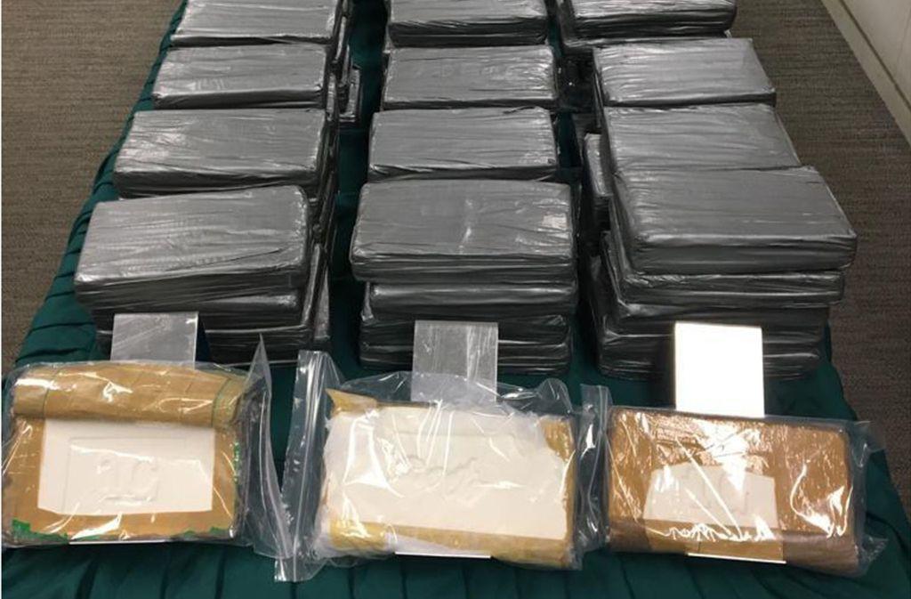 In Hamburg wurde tonnenweise Kokain sichergestellt (Archivbild). Foto: dpa