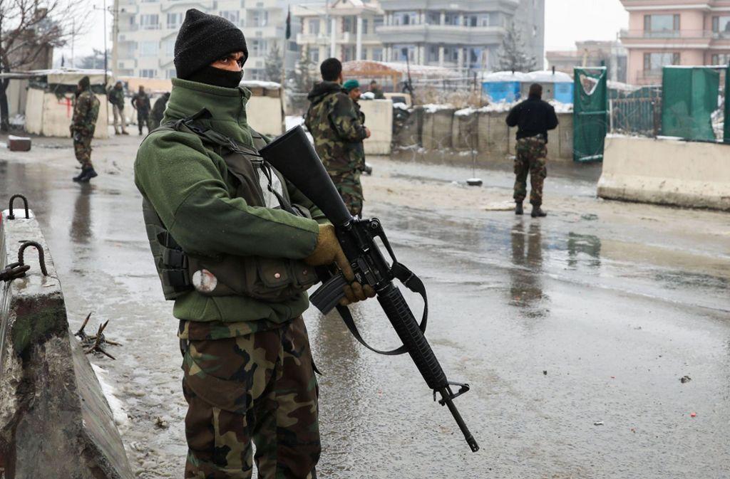 Sechs Menschen sind bei einem Anschlag in Kabul ums Leben gekommen. Foto: AFP