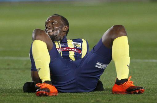 Usain Bolt hat ausgedribbelt