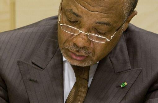 Tribunal erklärt Taylor für schuldig