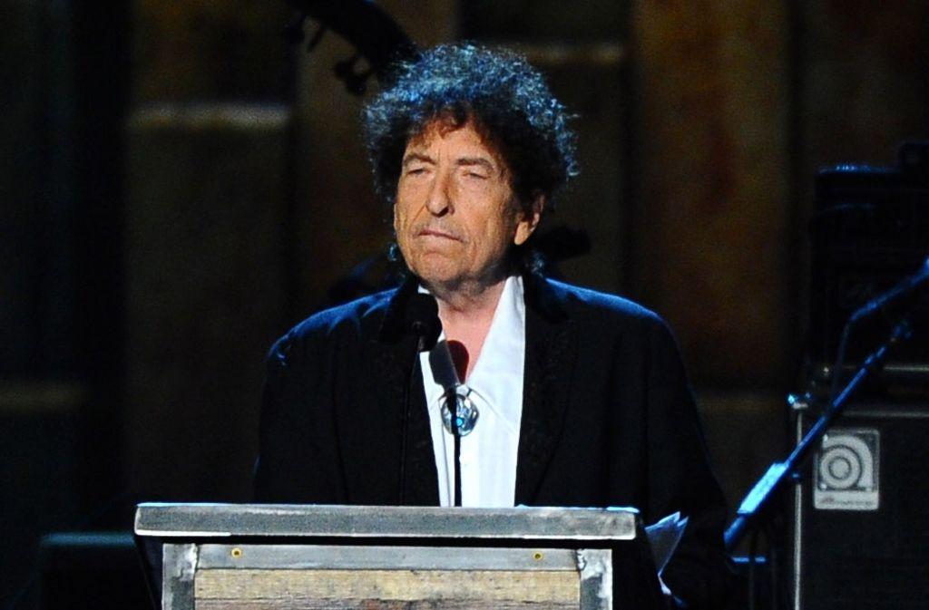 Bob Dylan hat für das Nobel-Bankett eine Rede geschrieben. Wer sie vortragen wird, ist aber noch unklar. (Archivfoto) Foto: AP