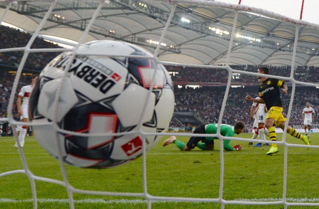 28 Spieltage in der Bundesliga sind absolviert, also 2520 Spielminuten. Foto: Baumann