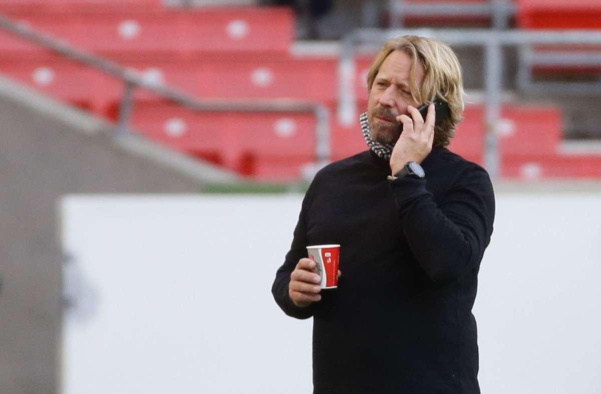 Sportdirektor Sven Mislintat äußert sich zur finanziellen Lage des VfB Stuttgart. Foto: Pressefoto Baumann/Hansjürgen Britsch