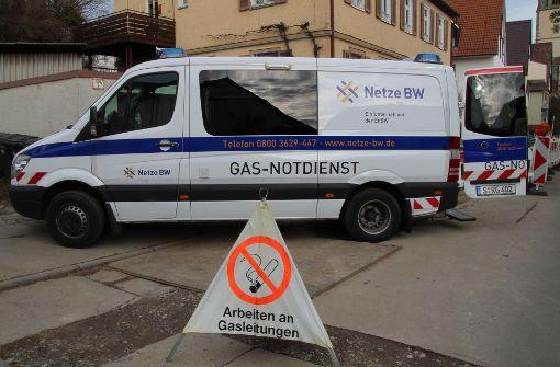 Gasstörung ist behoben