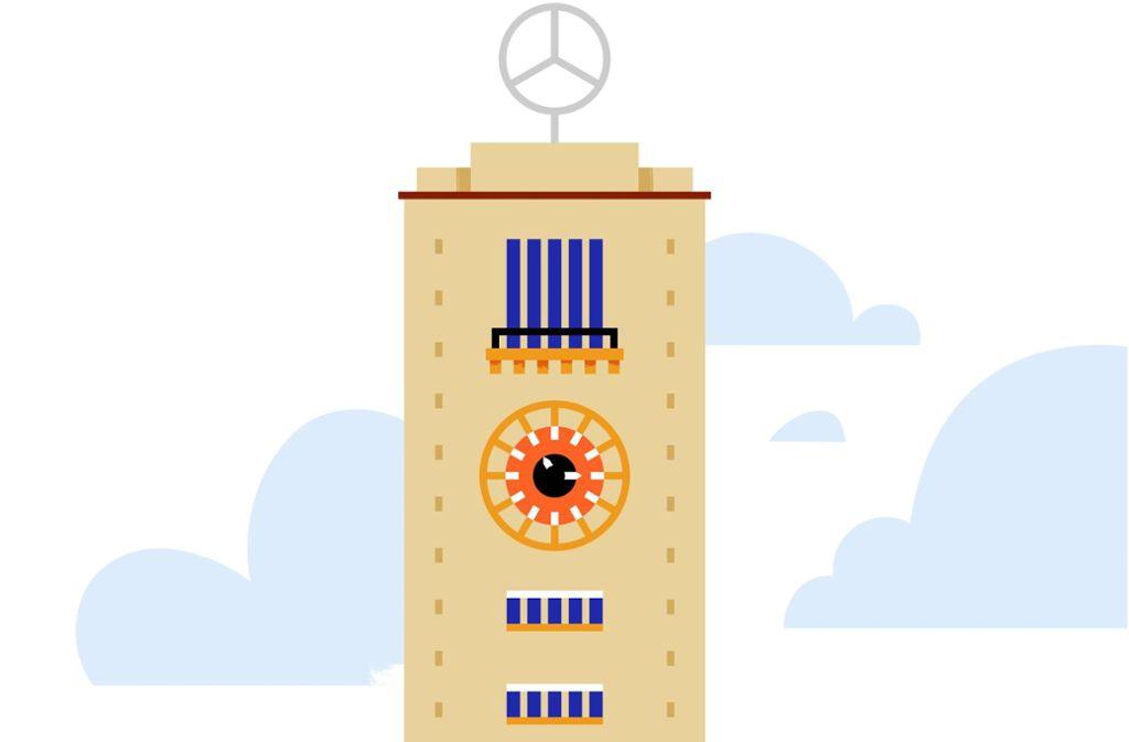 """Der Turm des Stuttgarter Hauptbahnhofs lässt sich bald als """"Stumoji"""" verschicken. Foto: GEHEIMTIPP STUTTGART"""