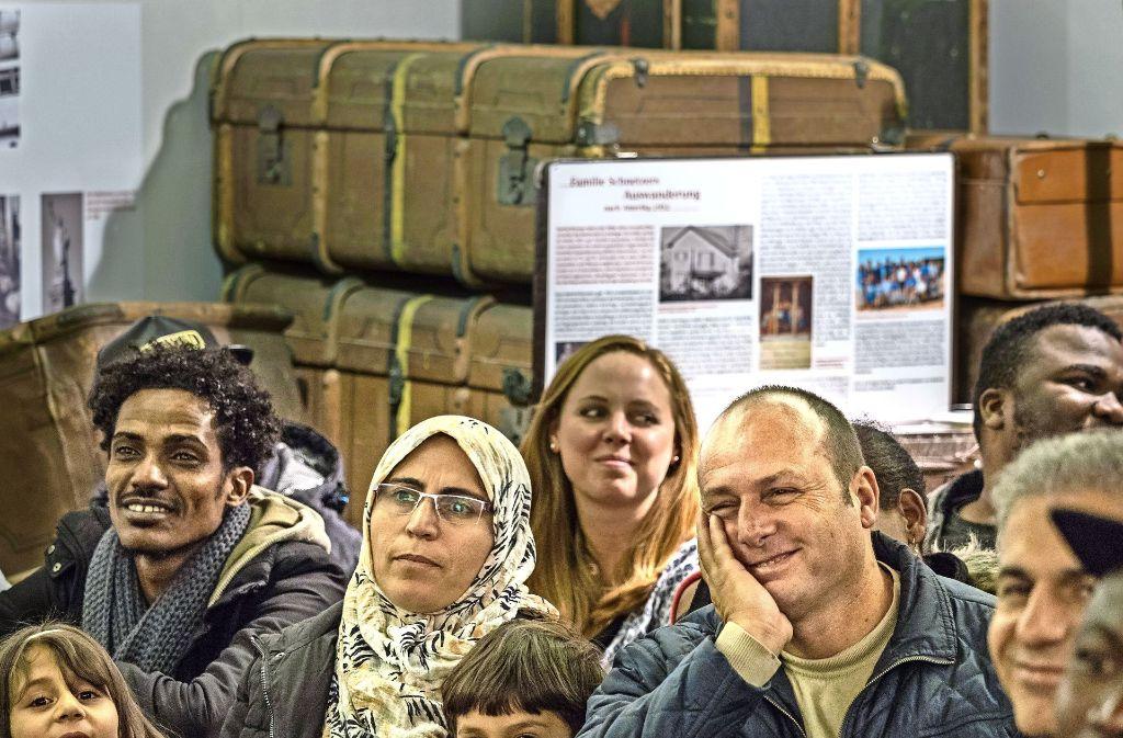 Auf reges Interesse stieß der erste Gerlinger Neubürgerabend für Flüchtlinge Foto: factum/Weise