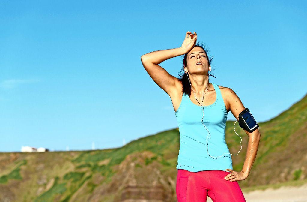 Oft ist die gefühlte Anstrengung  beim Sport größer als der  tatsächliche Kalorienverbrauch. Foto: Dirima/AdobeStock