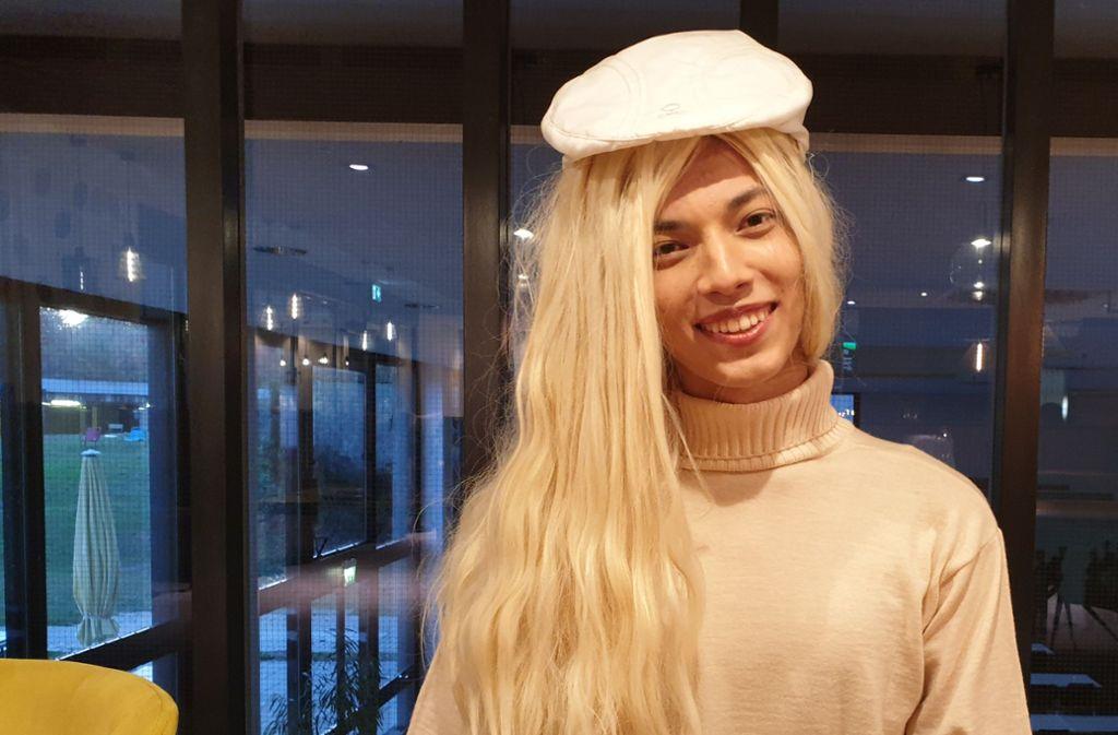 Früher hat sie in Backnang gelebt. Heute arbeitet Efiliel Schad als Model in Berlin. Foto: Sebastian Xanke