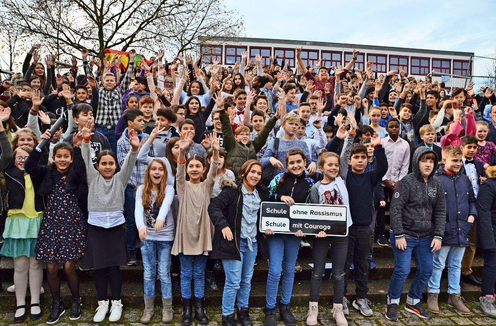 Die gesamte Schulgemeinschaft steht hinter dem Projekt. Foto: Fatma Tetik
