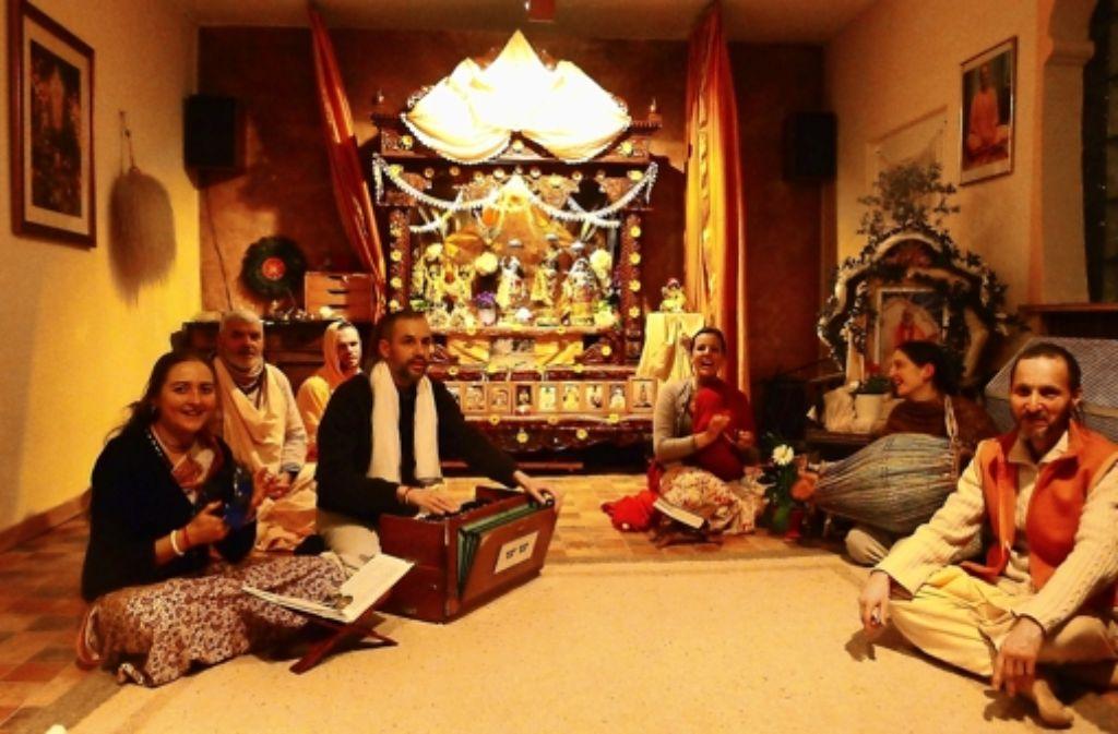 Die Vereinsmitglieder treffen sich im Tempel an der Daimlerstraße. Foto: privat