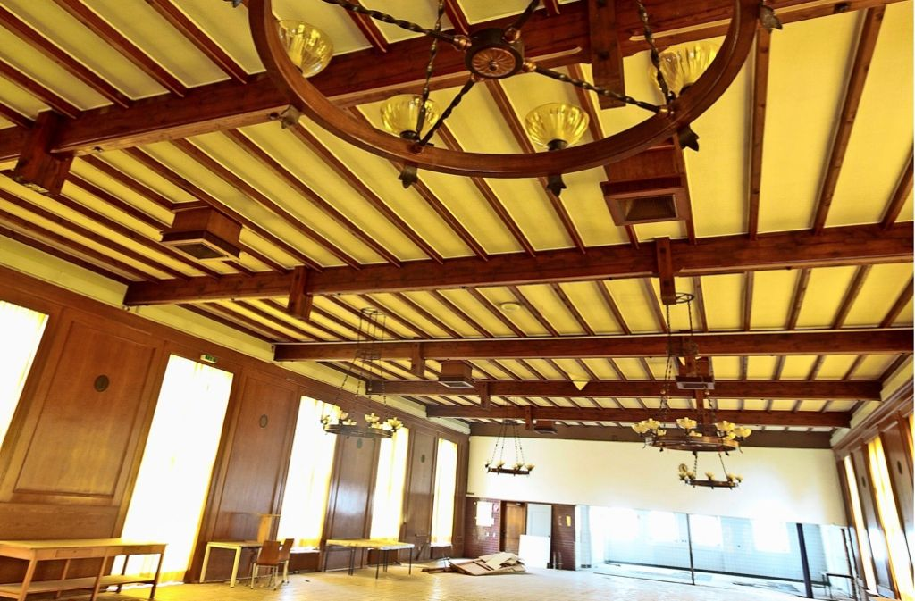 Auch diese ehemalige Kantine auf dem Areal des Ludwigsburger Werkzentrums wird voraussichtlich in ein modernes Bürogebäude für Porsche umgebaut. Foto: factum/Granville