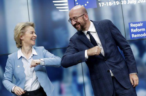 EU-Staaten einigen sich auf Paket in Höhe von 1,8 Billionen Euro