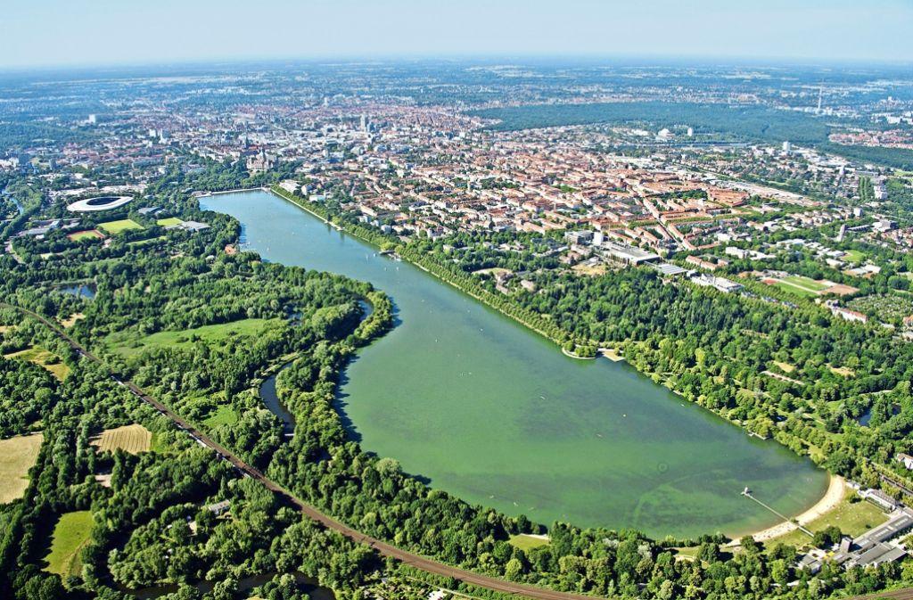 Natur in der City Hannover: der Maschsee Foto:Archiv Foto:
