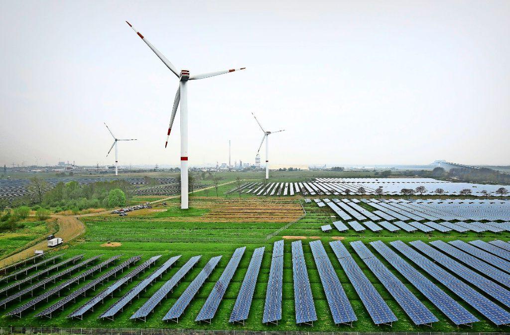 Der Ausbau der regenerativen Energien schreitet schnell voran. Foto: dpa