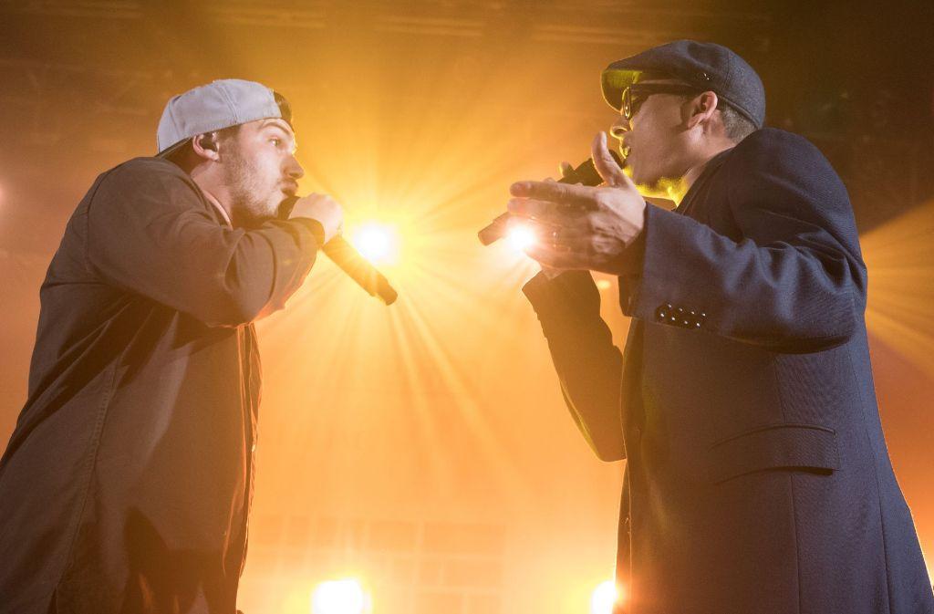 """Die Söhne Mannheims haben sich mit ihrem Lied """"Marionetten"""" viel Unverständnis eingehandelt. Foto: dpa"""