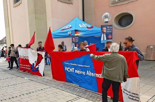AfD klagt über Angriffe im Wahlkampf