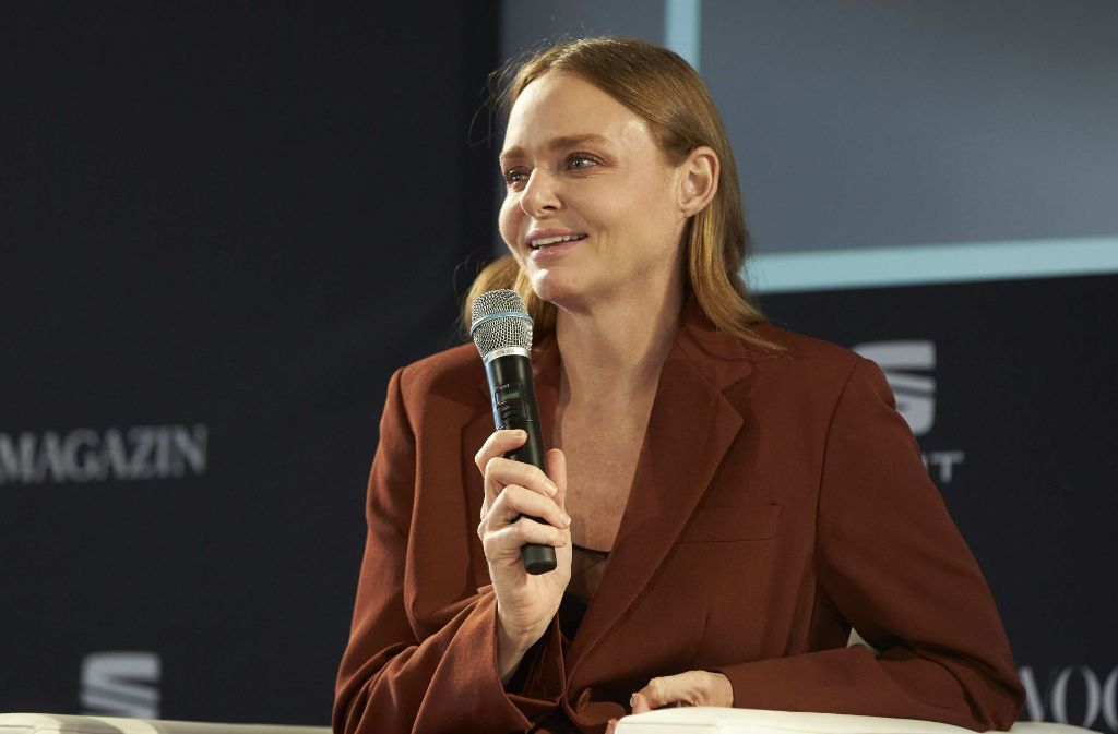 "Stella McCartney kam als Schirmherrin des Wettbewerbes ""Designer for Tomorrow"". Foto: Getty Images Europe"