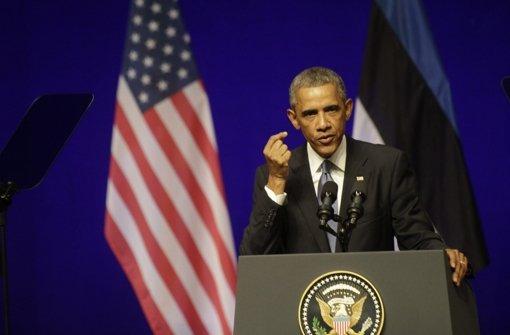 US-Präsident verspricht ewige Unterstützung