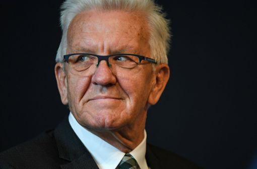 Winfried Kretschmann stellt sich Bürgerfragen