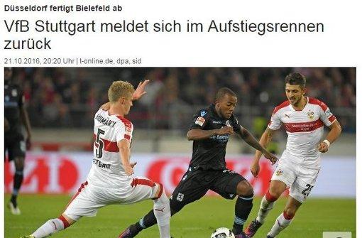 Die meisten sehen den VfB rehabilitiert