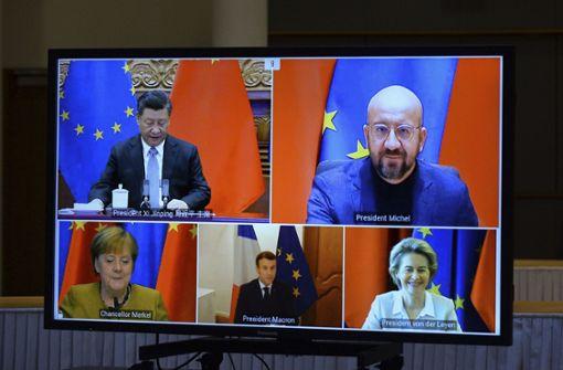EU und China einigen sich im Grundsatz auf Investitionsabkommen