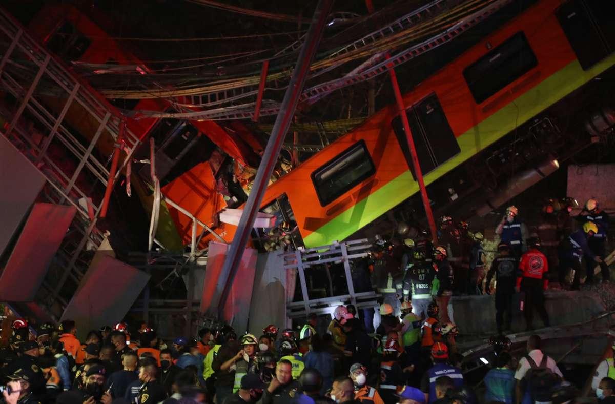 Mindestens 15 Menschen kamen uns Leben. Foto: dpa/Valente Rosas