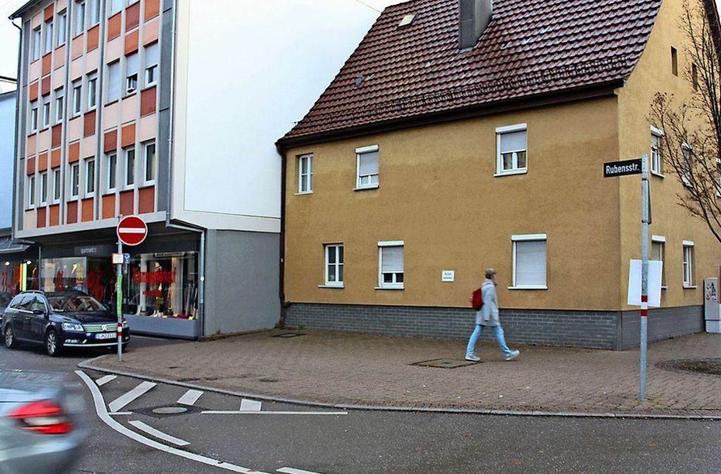 Um diesen Platz an der Ecke Rubens-/Epplestraße geht es. Foto: Tilman Baur