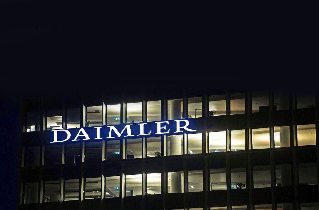 Bei Daimler wurde die Kurzarbeit bis zum Monatsende verlängert. Foto: dpa/Marijan Murat