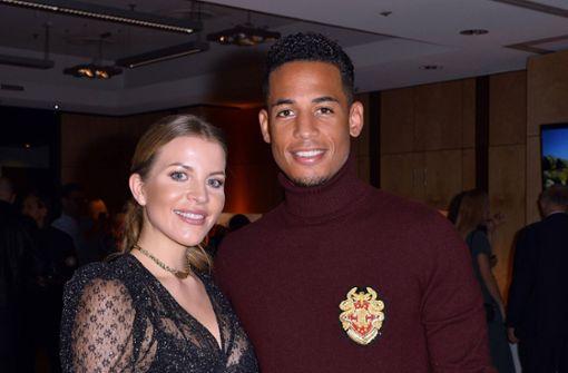 Ex-Nationalspieler Dennis Aogo und Frau Ina  an Corona erkrankt