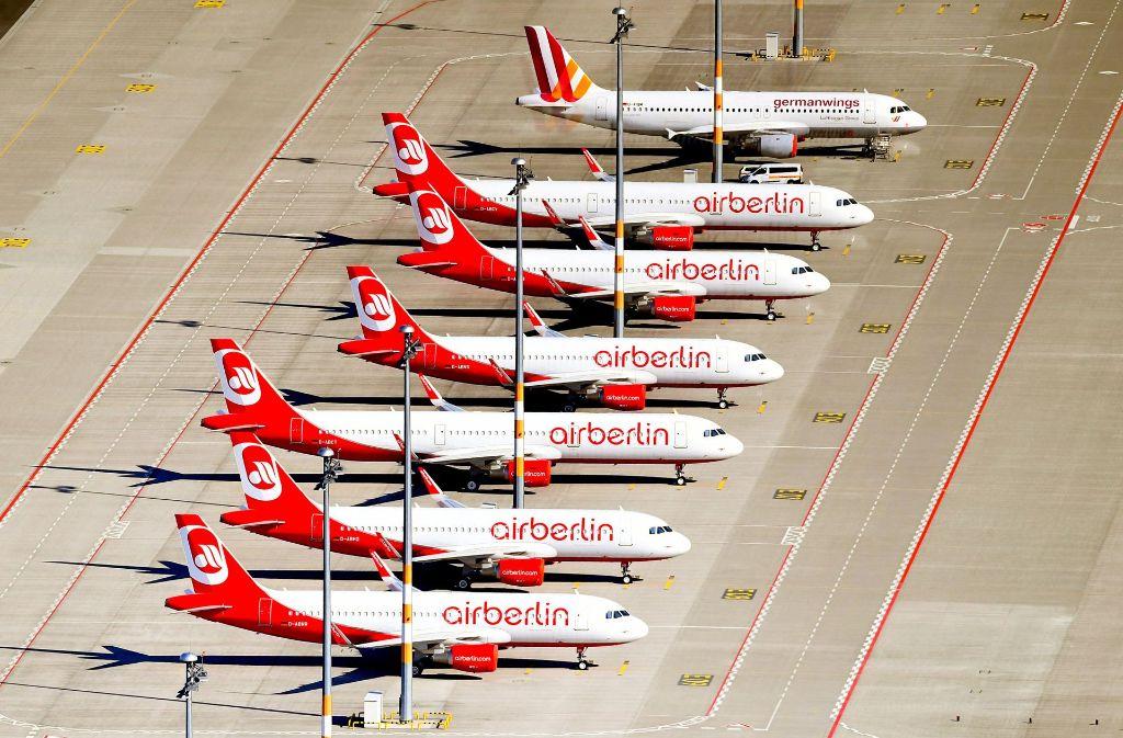 Air Berlin ist insolvent. Was müssen Kunden nun beachten? Foto: dpa-Zentralbild