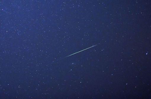 Die Aquariden-Meteore kommen