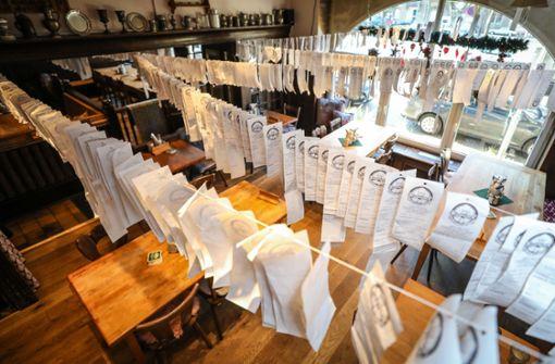 So protestiert ein Karlsruher Restaurant gegen die Bonpflicht