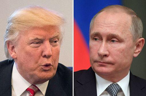 Donald Trump applaudiert Wladimir Putin