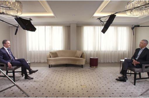 Markus Lanz trifft   Ex-US-Präsident  zum Interview