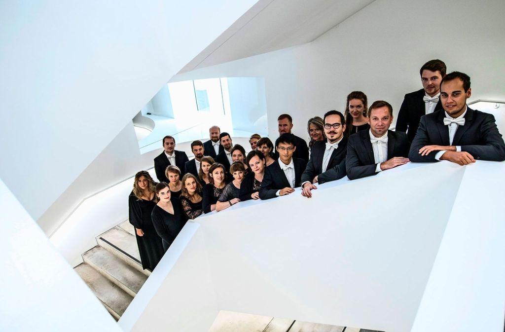 Der Chor der Gaechinger Cantorey   Foto: Martin Förster