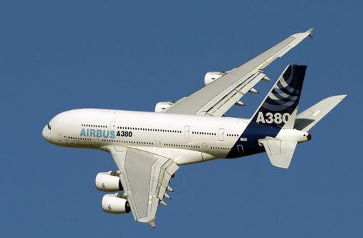 Nach Aus für A380 sind Millionen an Steuergeldern in Gefahr