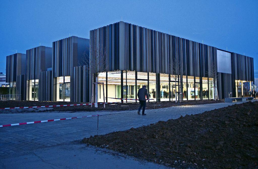 Das Schulungszentrum des Württembergischen Schützenverbands ist markant und gleichzeitig funktional. Foto: Horst Rudel