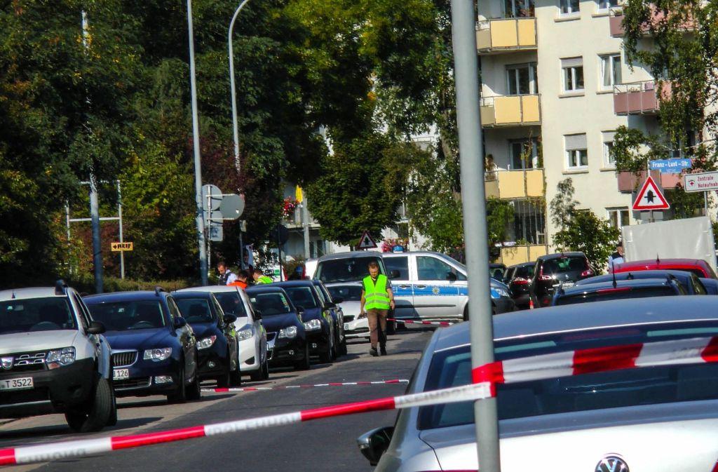 Bei Bauarbeiten ist am Montag eine Fliegerbombe in Karlsruhe gefunden worden. Foto: 7aktuell.de/Fabian Geier