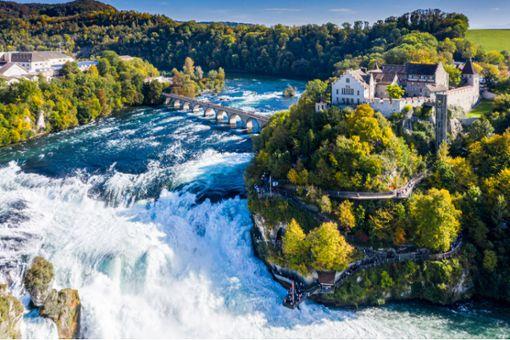 Der Rheinfall - Eins von 75 Ausflugszielen nahe Stuttgart