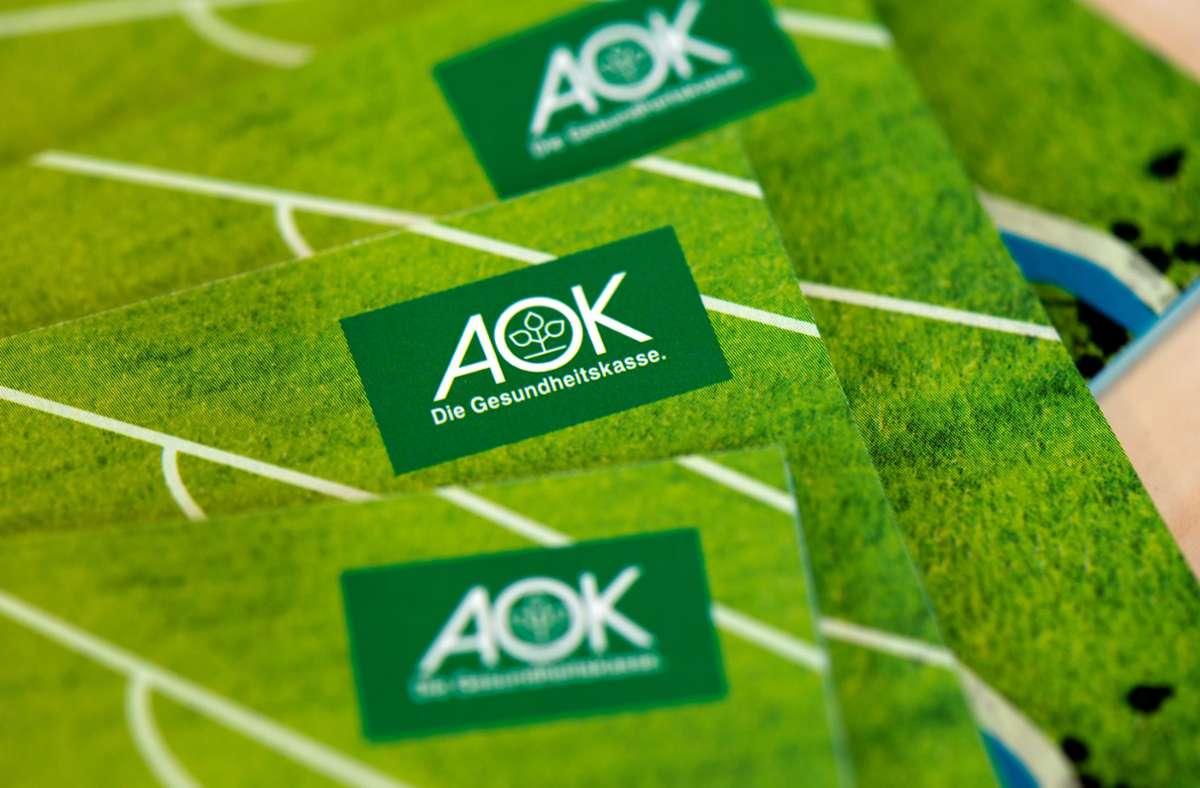 Die AOK muss wohl die höchste Strafe wegen eines Datenschutzfehlers zahlen. Foto: dpa/Arno Burgi