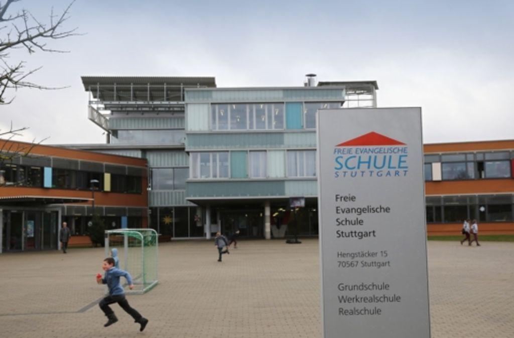 Die Freie Evangelische Schule Möhringen gehört zu den Privatschulen, die von der Finanzierungsfrage betroffen sind. Foto: Achim Zweygarth